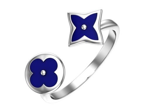 Серебряное кольцо с эмалью 1101046-20875 pokrovsky фото